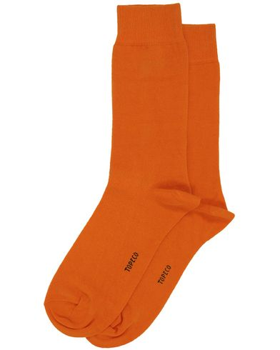 Topeco Plain Socks Orange i gruppen Underkl�der / Strumpor hos Care of Carl AB (10093111r)