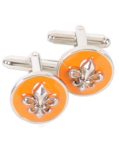 Morris Cuff Link Lilly Orange  i gruppen Accessoarer / Manschettknappar hos Care of Carl AB (10097410)