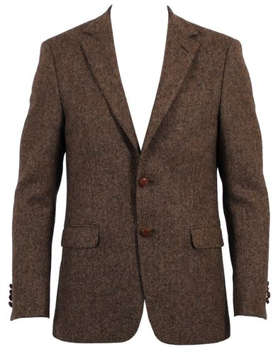 Oscar Jacobson Fuego Blazer Brown i gruppen Kavajer hos Care of Carl AB (10194511r)
