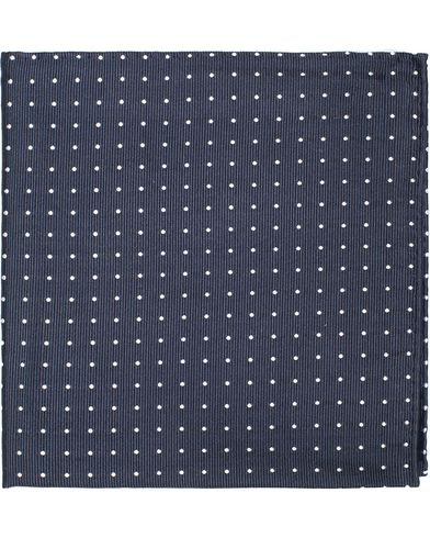 Hanks Silk Navy/White i gruppen Accessoarer / N�sdukar hos Care of Carl (10002010)