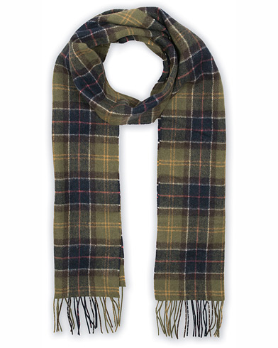 Barbour Lifestyle Tartan Lambswool Scarf Barbour Lifestyle Classic i gruppen Assesoarer / Skjerf hos Care of Carl (10005410)