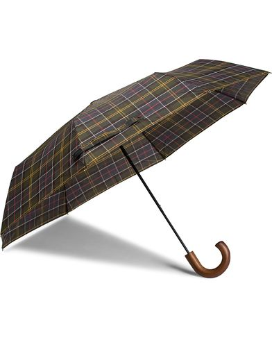 Barbour Lifestyle Classic Telescopic Umbrella Tartan  i gruppen Assesoarer / Paraplyer hos Care of Carl (10005910)