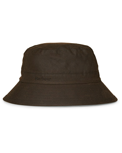 Barbour Lifestyle Wax Sports Hat Olive i gruppen Assesoarer / Caps / Hatter hos Care of Carl (10046511r)