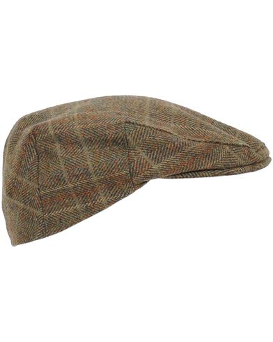 Barbour Lifestyle Classic Creiff Cap Olive Mixed Herringbone i gruppen Tilbehør / Kasketter / Sixpence hos Care of Carl (10046811r)