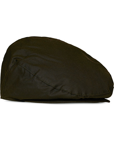 Barbour Lifestyle Classic Wax Cap Sylkoil Olive i gruppen Assesoarer / Caps / Sixpence hos Care of Carl (10047011r)