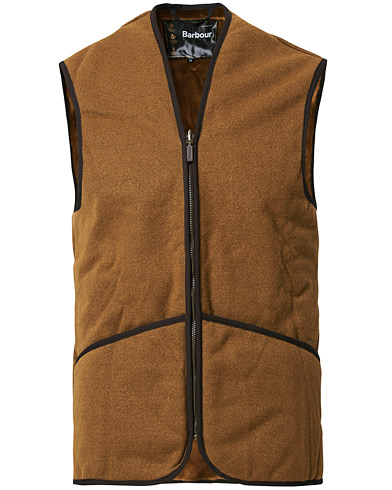 Barbour Lifestyle Warm Pile Waistcoat Zip-In Liner Brown i gruppen Tøj / Jakker / Tilbehør til jakker hos Care of Carl (10047111r)