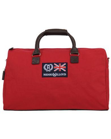 Henri Lloyd Canvas Bag Medium Red  i gruppen Väskor / Weekendbags hos Care of Carl (10054510)