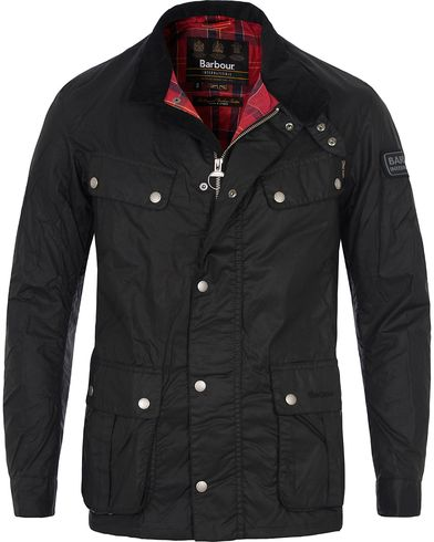 Barbour International Enfield Jacket Black i gruppen Tøj / Jakker / Oilskinsjakker hos Care of Carl (10073711r)