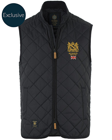 Morris Carl Quilted Vest Dark Navy  i gruppen Tøj / Jakker hos Care of Carl (10097611r)