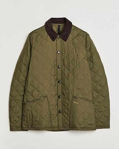 Barbour Heritage Liddesdale Jacket Olive i gruppen Kläder / Jackor / Quiltade jackor hos Care of Carl (10172411r)