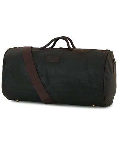 Barbour Lifestyle Wax Holdall Olive  i gruppen V�skor / Weekendbags hos Care of Carl (10173710)
