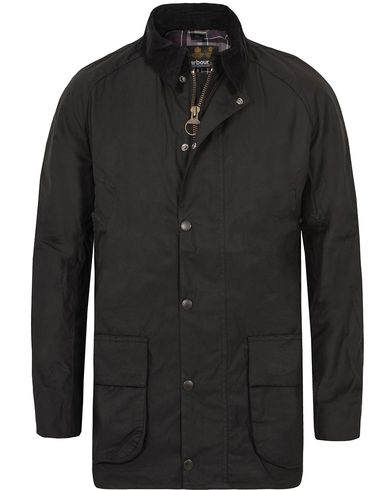 Barbour Lifestyle Bristol Jacket Black i gruppen Klær / Jakker / Voksede jakker hos Care of Carl (10212511r)