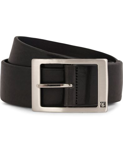Tiger of Sweden Marvin Leather Jeans Belt 4,5 cm Black i gruppen Assesoarer / Belter hos Care of Carl (10214811r)