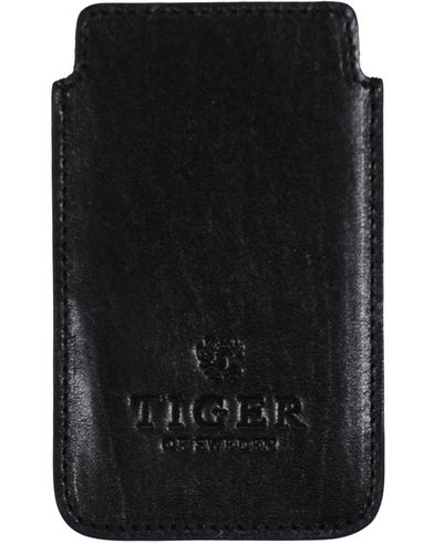 Tiger of Sweden Leather iPhone Case Black  i gruppen Accessoarer hos Care of Carl (10217510)