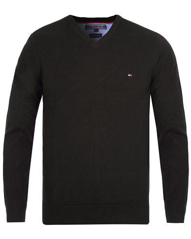 Tommy Hilfiger Pacific V-Neck Black i gruppen Kläder / Tröjor hos Care of Carl (10218711r)