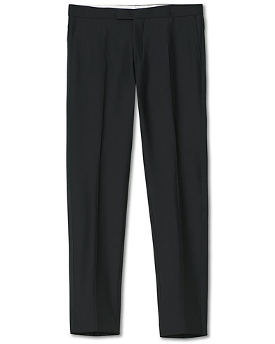 Oscar Jacobson Devon Tuxedo Trousers Black i gruppen Klær / Bukser / Smokingbukser hos Care of Carl (10235011r)