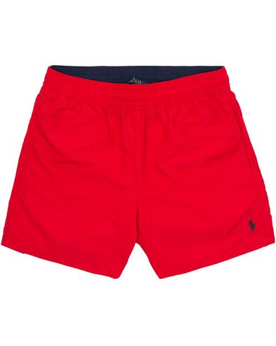 Polo Ralph Lauren Hawaiian Boxer Swim Red i gruppen Tøj / Badebukser hos Care of Carl (10290611r)