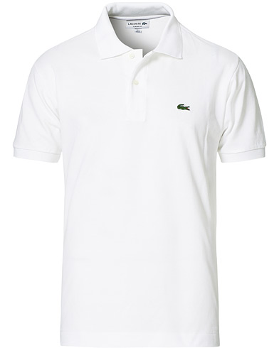 Lacoste Original Polo Piké White i gruppen Kläder / Pikéer hos Care of Carl (10298411r)