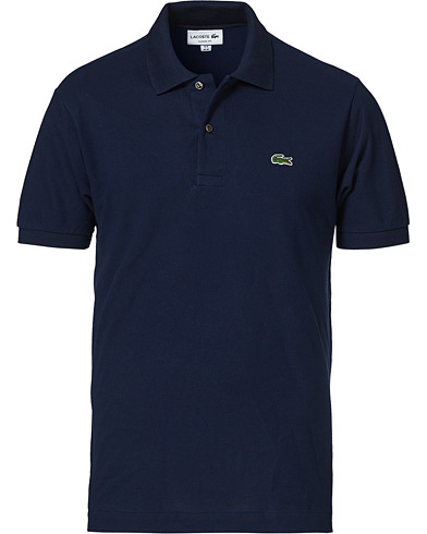 Lacoste Original Polo Piké Navy i gruppen Kläder / Pikéer hos Care of Carl (10298511r)