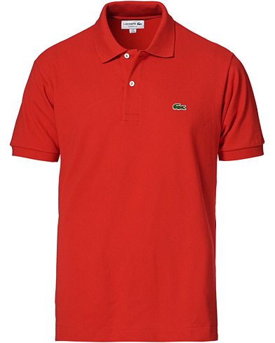 Lacoste Original Polo Piké Red i gruppen Klær / Pikéer hos Care of Carl (10298711r)