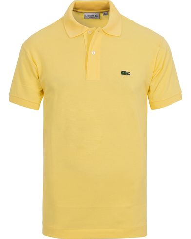 Lacoste Original Polo Piké Yellow i gruppen Polotrøjer hos Care of Carl (10298811r)