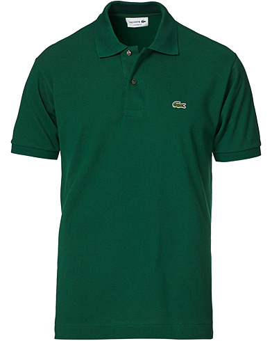 Lacoste Original Polo Piké Green i gruppen Tøj / Polotrøjer hos Care of Carl (10298911r)