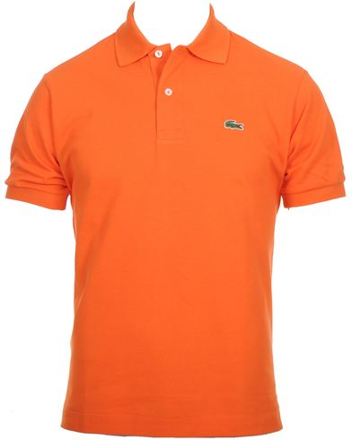 Lacoste Original Polo Piké Orange i gruppen Kläder / Pikéer hos Care of Carl (10299211r)