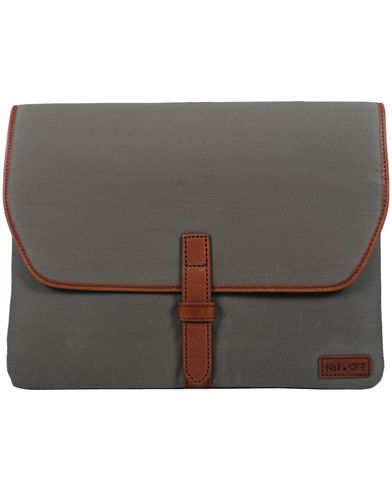 NN07 Bomba Millerain iPad Cover Mid Brown/Green  i gruppen Väskor / Portfolios hos Care of Carl (10324710)