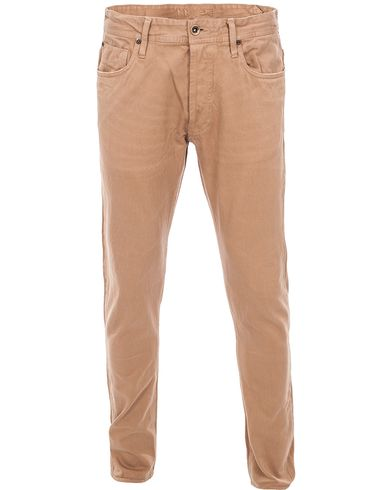 NN07 James 1532 Selvage 5-Pocket Brown i gruppen Jeans hos Care of Carl (10328811r)