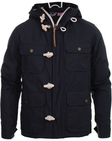 Gloverall Dry Wax Utility Jacket 3304 Navy i gruppen Jackor / Duffel hos Care of Carl (10339811r)