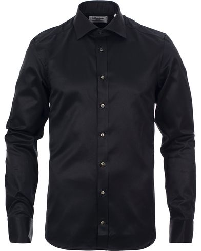 Stenstr�ms Slimline Shirt Black i gruppen Skjortor / Businesskjortor hos Care of Carl (10340411r)