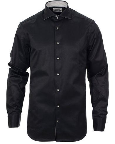 Stenströms Slimline Shirt Contrast Black i gruppen Skjortor hos Care of Carl (10340911r)