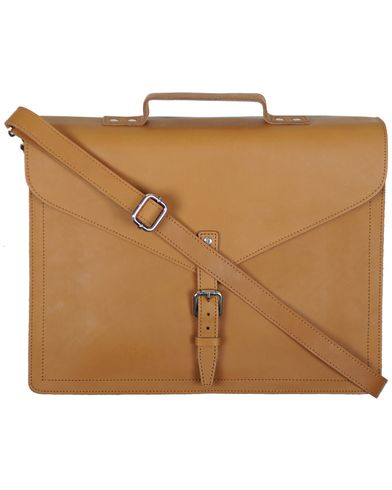 Sandqvist Lennart Breifcase Leather Tan Brown i gruppen Väskor / Portföljer hos Care of Carl (10343810)