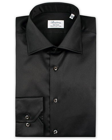 Stenströms Fitted Body Shirt Black i gruppen Skjorter / Formelle skjorter hos Care of Carl (10355111r)