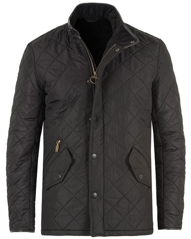 Barbour Lifestyle Powell Quilted Jacket Black i gruppen Jackor / Quiltade Jackor hos Care of Carl (10457111r)