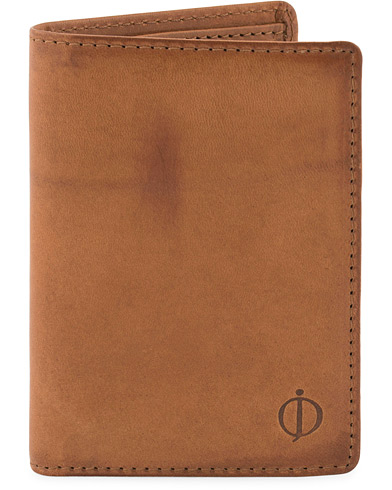 Oscar Jacobson Credit Card Wallet Tan  i gruppen Tilbehør / Punge / Almindelige punge hos Care of Carl (10504510)