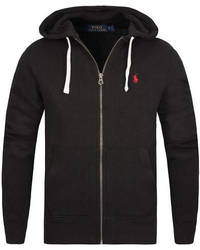 Polo Ralph Lauren Full Zip Hood Black i gruppen Tøj / Trøjer hos Care of Carl (10507611r)
