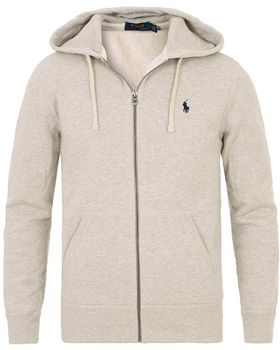 Polo Ralph Lauren Full Zip Hood Light Sport Heather i gruppen Klær / Gensere / Hettegensere hos Care of Carl (10507811r)