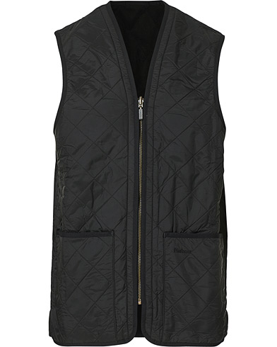 Barbour Lifestyle Quilt Waistcoat / Zip-In Liner Black i gruppen Jackor / Ytterv�star hos Care of Carl (10509811r)