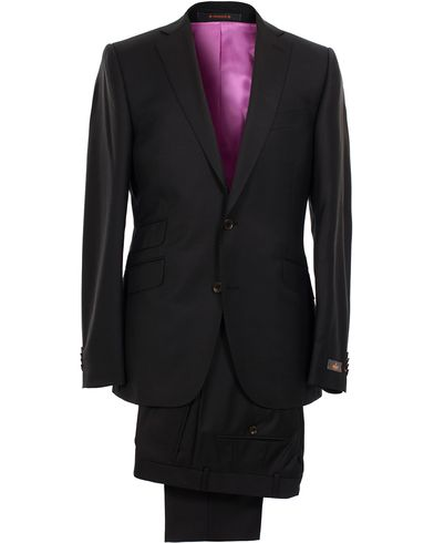 Morris Paul Suit Solid Black i gruppen Jakkesæt hos Care of Carl (10510811r)