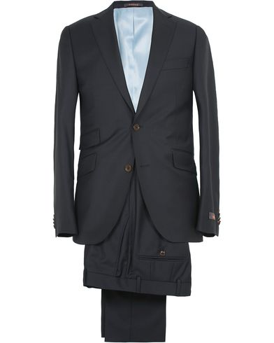 Morris Paul Suit Solid Navy i gruppen Jakkesæt hos Care of Carl (10510911r)