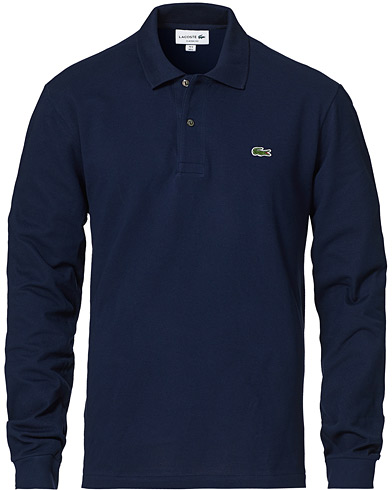 Lacoste Long Sleeve Piké Navy i gruppen Kläder / Pikéer hos Care of Carl (10514111r)