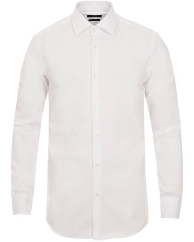 BOSS Jenno Slim Fit Shirt White i gruppen Skjorter / Formelle skjorter hos Care of Carl (10516211r)