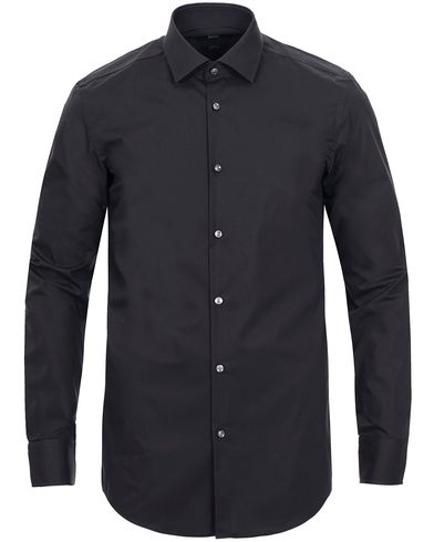 BOSS Jenno Slim Fit Shirt Black i gruppen Tøj / Skjorter / Formelle skjorter hos Care of Carl (10525311r)