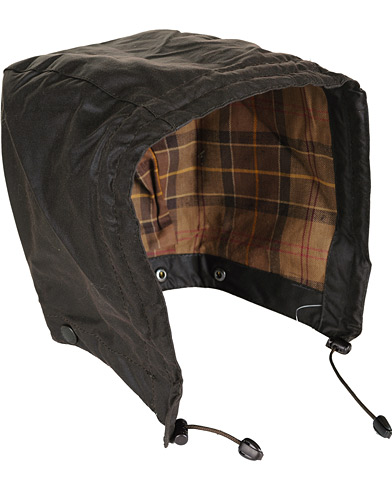 Barbour Lifestyle Waxed Cotton Hood Rustic  i gruppen Jakker / Tilbehør til jakker hos Care of Carl (10534210)