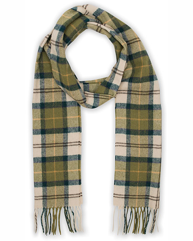 Barbour Lifestyle Tartan Lambswool Scarf Ancient  i gruppen Assesoarer / Skjerf hos Care of Carl (10535410)