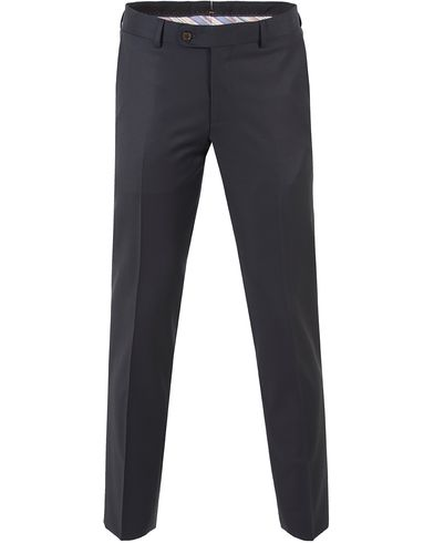 Morris Paul Suit Trousers Solid T Navy i gruppen Klær / Bukser / Dressbukser hos Care of Carl (10536611r)