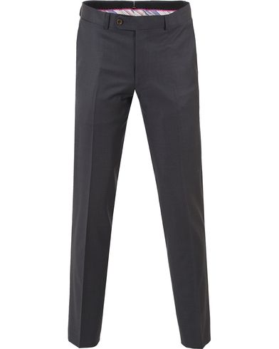 Morris Paul Suit Trousers Solid T Grey i gruppen Bukser / Dressbukser hos Care of Carl (10536711r)