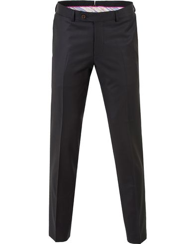 Morris Paul Suit Trousers Solid T Black i gruppen Byxor / Kostymbyxor hos Care of Carl (10536811r)