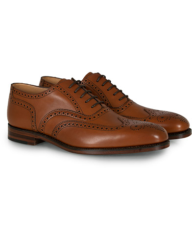 Loake 1880 Buckingham Brogue Brown Burnished Calf  i gruppen Skor / Brogues hos Care of Carl (10629311r)